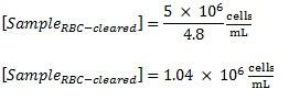 how to find concentration with dilution factor