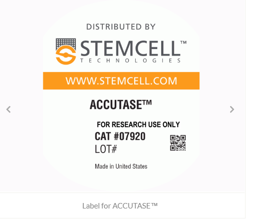 Label for ACCUTASE™