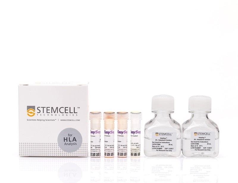 EasySep™ HLA Total Lymphocyte Enrichment: Complete Processing Kit for Whole Blood