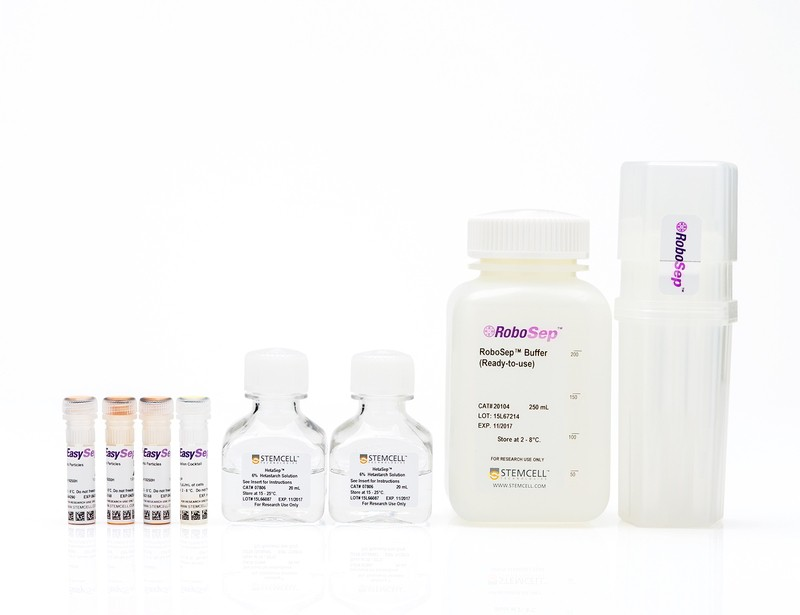 RoboSep™ HLA Total Lymphocyte Enrichment: Complete Processing Kit for Whole Blood with Filter Tips