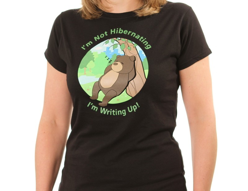 Hibernating bear T-shirt