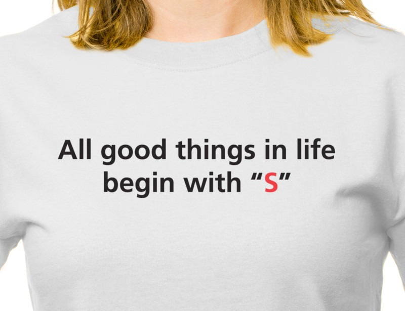 Things that begin with S T-shirt