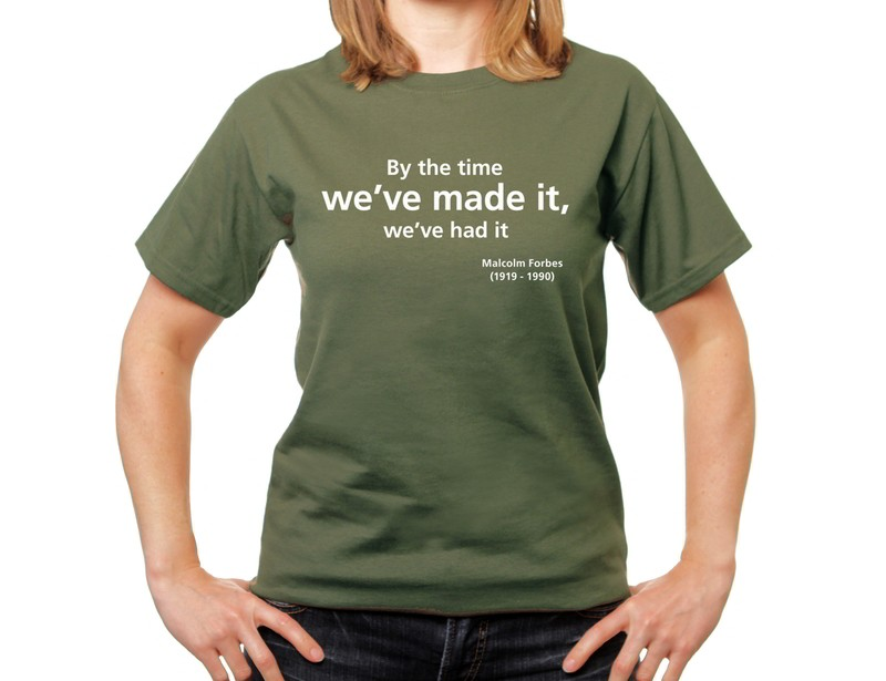 We've made it T-shirt