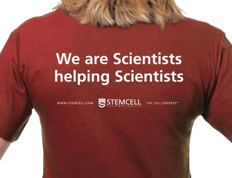 Art is I, Science is we T-shirt
