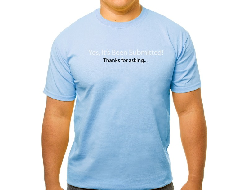 It's been submitted T-shirt