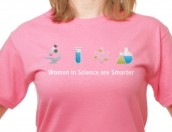 Women in Science T-shirt