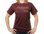 Tragedy of science T-shirt