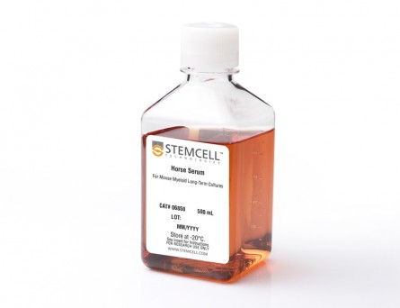 Horse Serum for Mouse Myeloid Long-Term Cultures