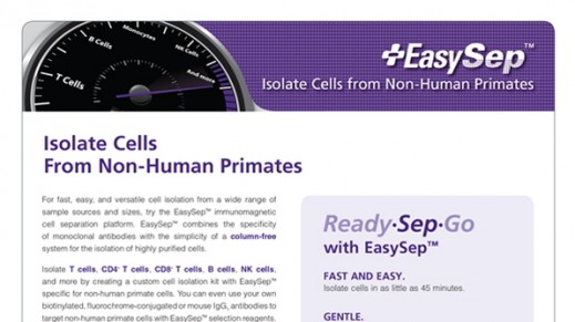 EasySep™: Isolate Cells from Non-Human Primates