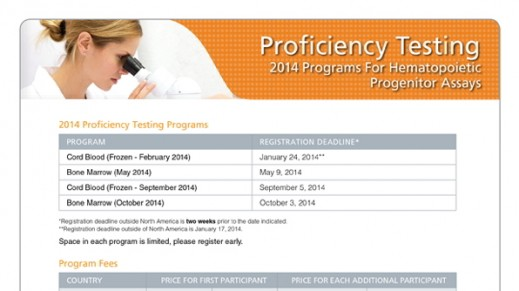 Registration Form - Proficiency Testing Programs