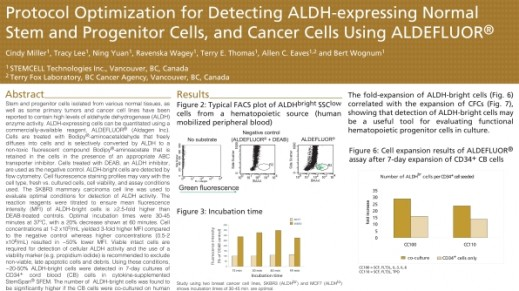 Protocol Optimization for Detecting ALDH-Expressing Normal Stem and Progenitor Cells and Cancer Cells Using ALDEFLUOR™