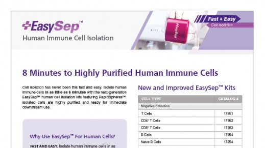 8-Minute Human Immune Cell Isolation