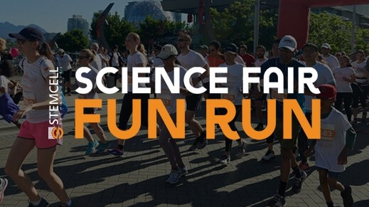 The 21st Annual STEMCELL Science Fair Fun Run Registration is Now Open!