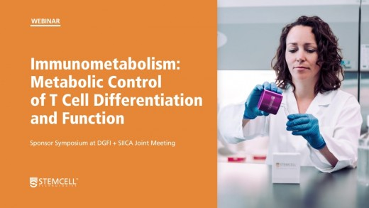 Immunometabolism: Metabolic Control of T Cell Differentiation and Function
