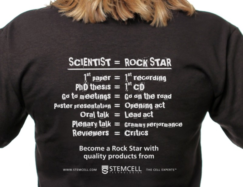rock star t shirt stemcell technologies. Black Bedroom Furniture Sets. Home Design Ideas