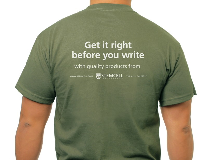t-shirt writing activity
