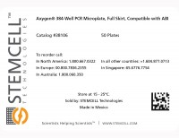 Label for Axygen® PCR Microplates