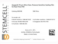 Label for Axygen® Sealing Film for Real-Time PCR (qPCR)