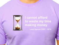 Wasting my time making money T-shirt