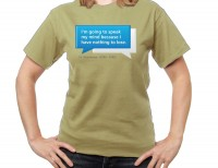Speak my mind T-shirt