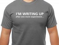 I'm writing up T-shirt