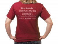 Cell separation poetry T-shirt