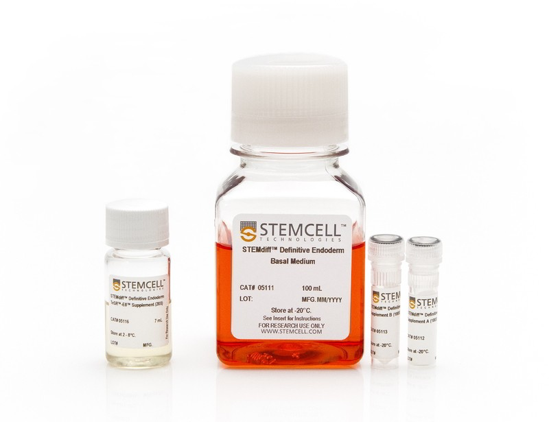 STEMdiff™ Definitive Endoderm Kit (TeSR™-E8™ Optimized)