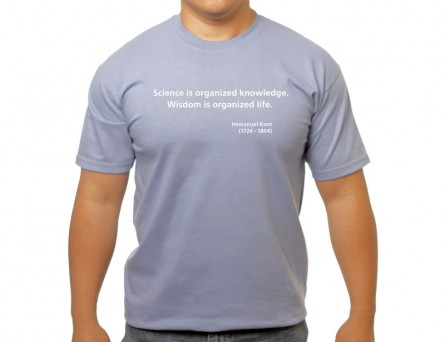 Organized knowledge T-shirt