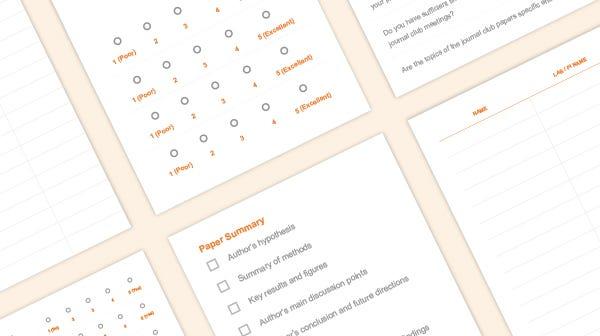 Journal club toolkit