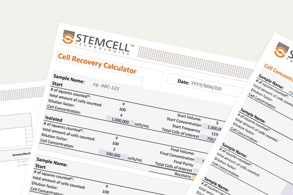 Optimize your cell counts. Access tools to help accurately count cells and measure cell viability.