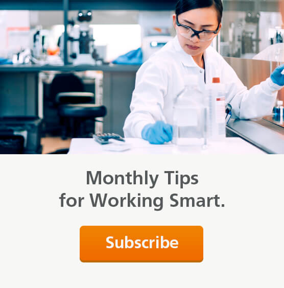 Monthly Tips for Working Smart