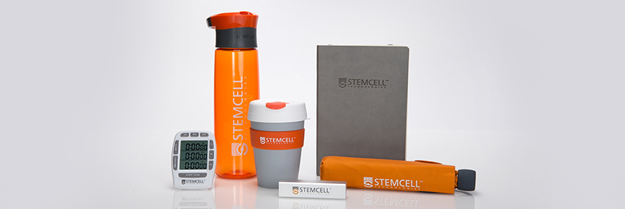 Image of the prize pack that can be won at STEMCELL Technologies's Virtual Conference Exhibition at ATS 2020.